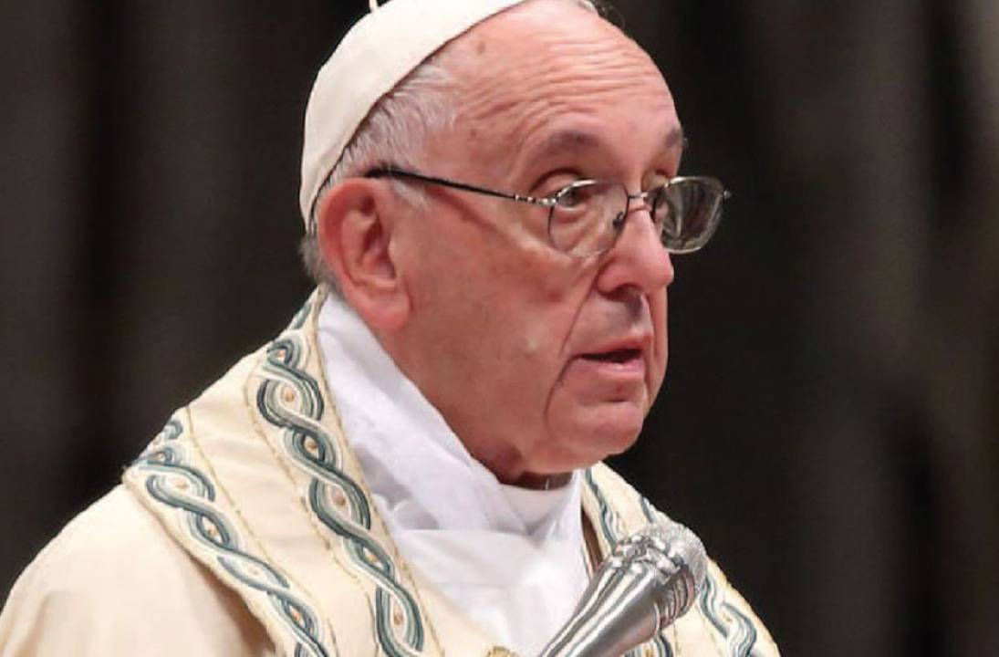 Pope FRANCIS Accepts Bishop's Resignation