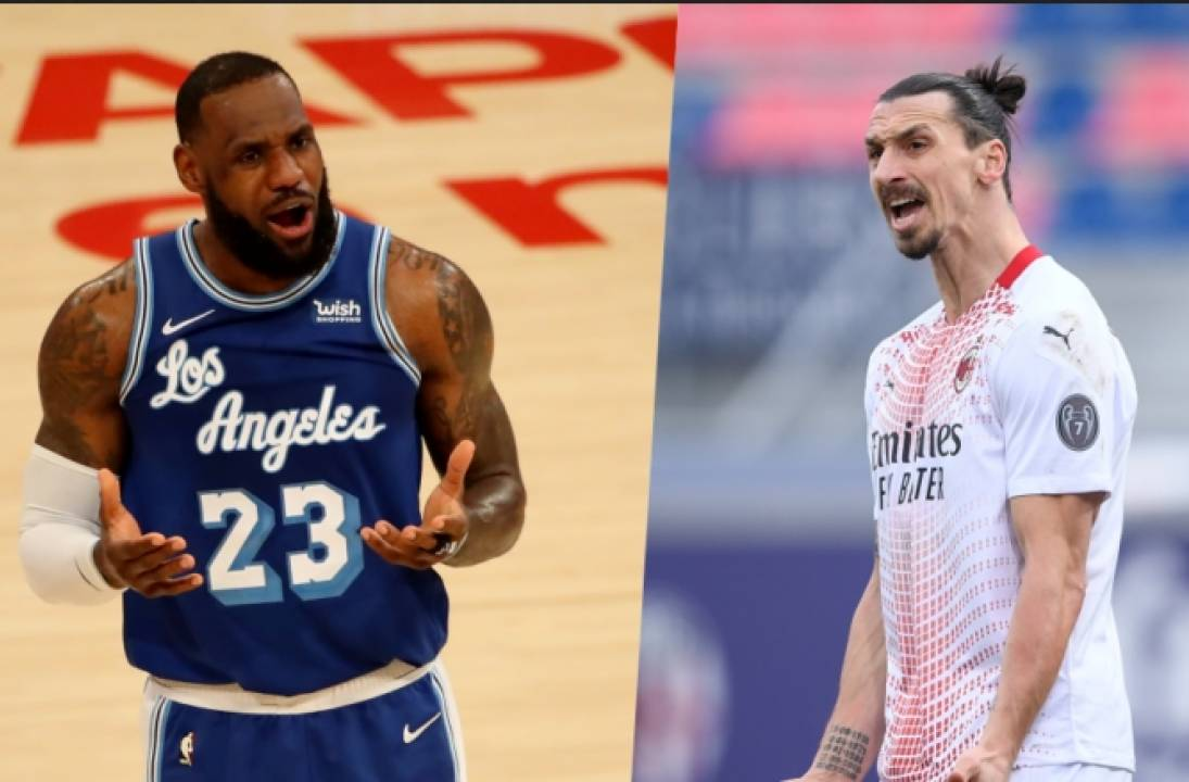 Who won the LeBron vs Zlatan politics bout?